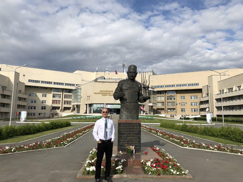 Paley visiting Kurgan, 2018