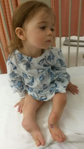 An image of this patient, named Julia