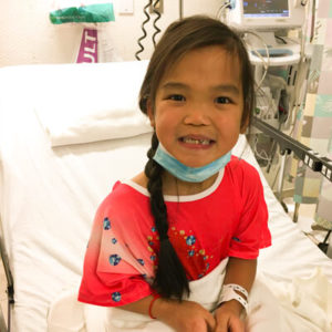 An image of this patient, named Hannah