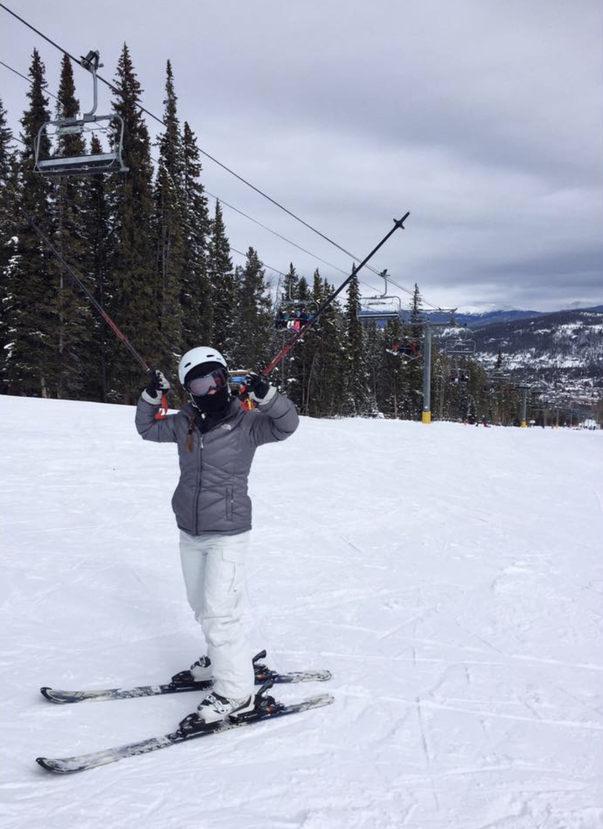 Liddy Skiing